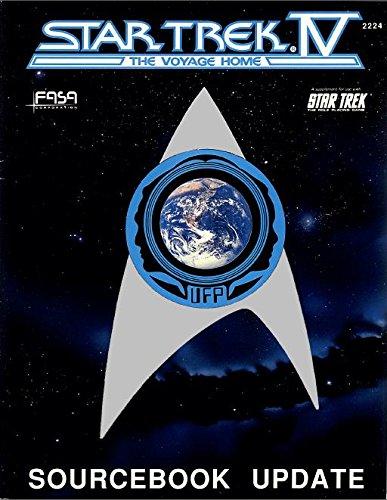 9781555600020: Star Trek IV - The Voyage Home: Sourcebook Update (Star Trek RPG)