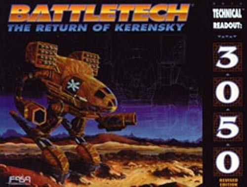 Technical Readout 3050/Battletech: The Return of Kerensky: J. Andrew Keith,