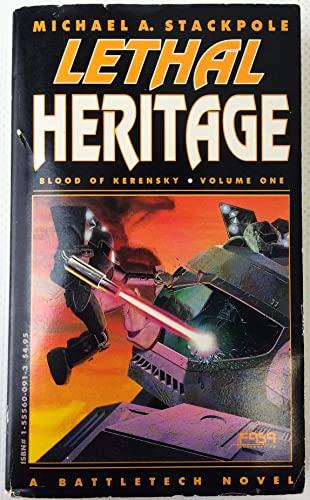 9781555600914: Lethal Heritage (Battletech)