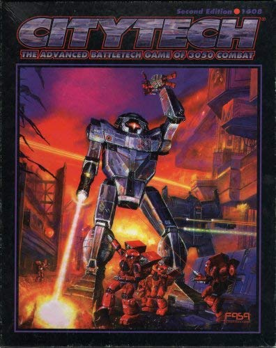 Citytech 2nd Edition (Battletech - Box Sets & Miscellaneous (FASA))