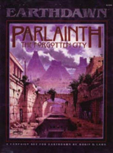 9781555602437 Parlainth The Forgotten City EarthDawn Roleplaying