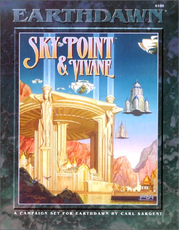 9781555602680: Sky Point & Vivane/3 Books, 2 Maps, Handouts and Props/Boxed Set (Earthdawn, 6108)