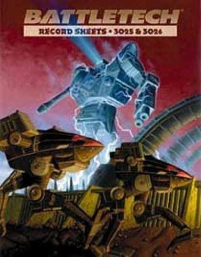 9781555602840: Battletech: Record Sheets 3025 and 3026