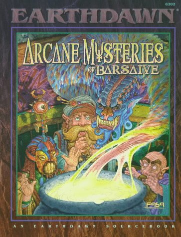 Arcane Mysteries Of Barsaive (Earthdawn 6202)