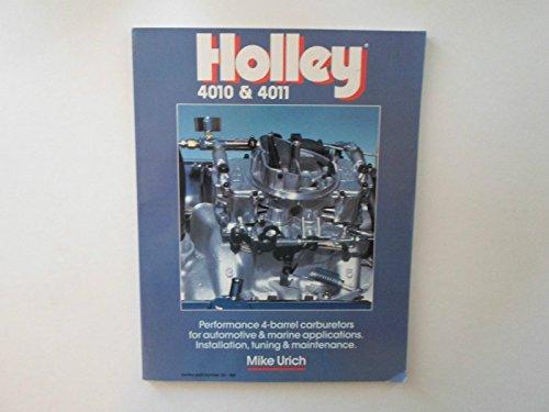 9781555610197: Holley 4010 & 4011 Carburetors