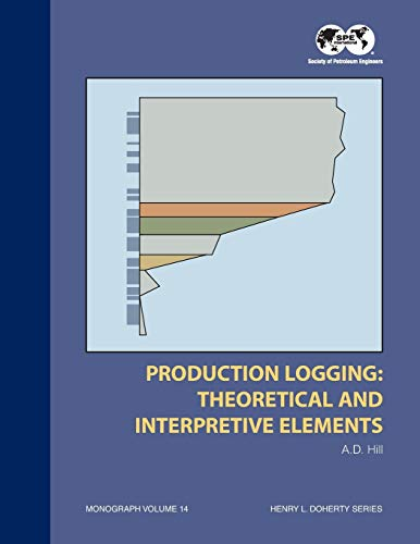 9781555630300: Production Logging-Theoretical and Interpretive Elements (S P E Monograph Series, Vol 14)