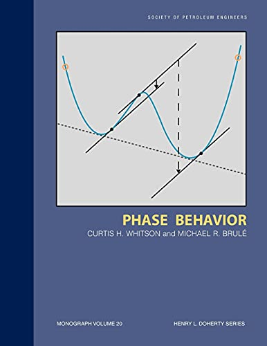 9781555630874: Phase Behavior (Henry L. Doherty series)