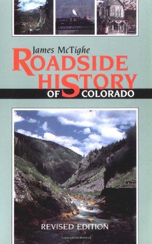 9781555660543: Roadside History of Colorado