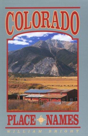 9781555661021: Colorado Place Names