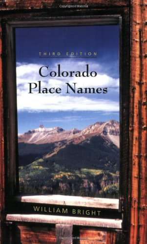 9781555663339: Colorado Place Names