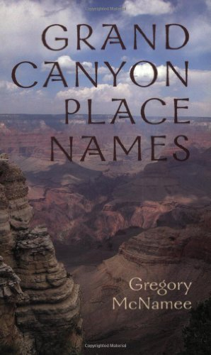9781555663346: Grand Canyon Place Names