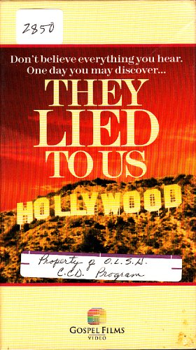9781555682248: They Lied to Us [VHS]