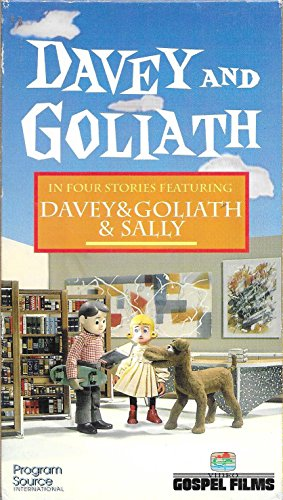 9781555682446: Davey and Goliath and Sally [VHS]
