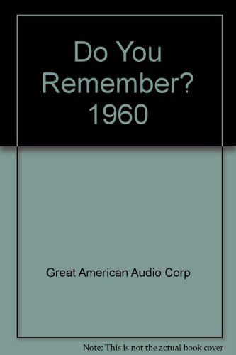 9781555690465: Do You Remember? 1960