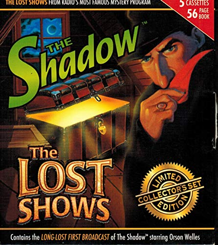 9781555699505: The Shadow: The Lost Shows (Chronicle Series)