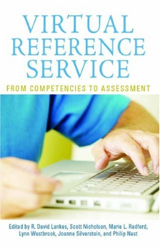 9781555705282: Virtual Reference Service: From Competencies to Assessment (The Virtual Reference Desk Series)