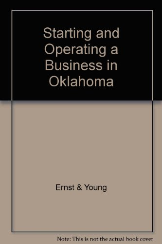 Starting and Operating a Business in Oklahoma: Michael D. Jenkins;