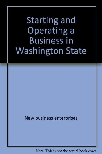 Starting and Operating a Business in Washington: Michael D. Jenkins,