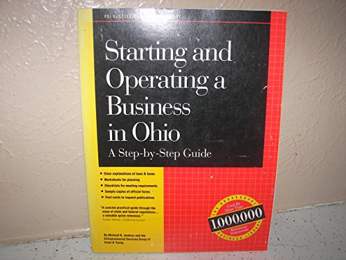 Starting and Operating a Business in Ohio: Michael D. Jenkins,