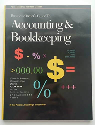 9781555711566: Business Owner's Guide to Accounting & Bookkeeping (Psi Successful Business Library)