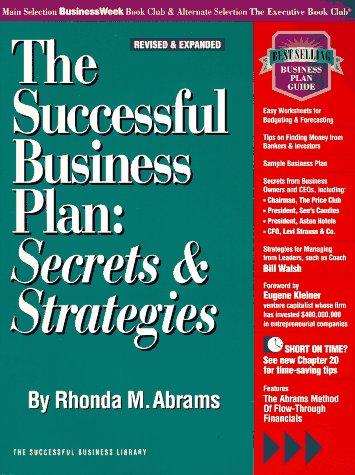 9781555711948 The Successful Business Plan Secrets Strategies