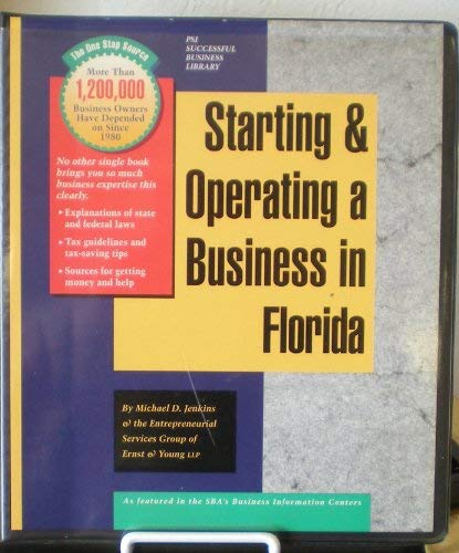 9781555712181: Starting and Operating a Business in Florida: A Step-By-Step Guide (SMARTSTART YOUR BUSINESS IN)