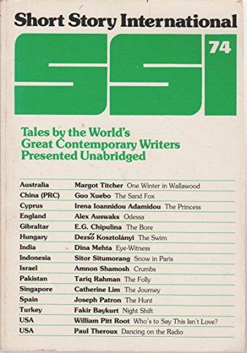 Short Story International (SSI) Volume 13, Number: Margot Titcher; Guo