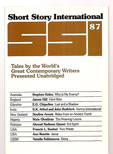 Short Story International: Tales by the World's: Stephen Kelen, James