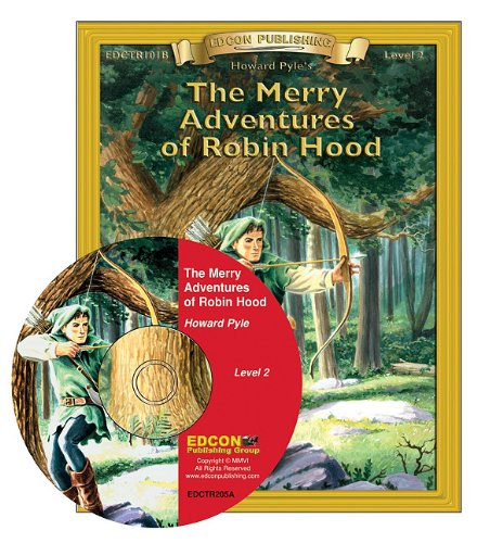 9781555764968: The Merry Adventures of Robin Hood Read Along: Bring the Classics to Life Book and Audio CD Level 2 [With CD]
