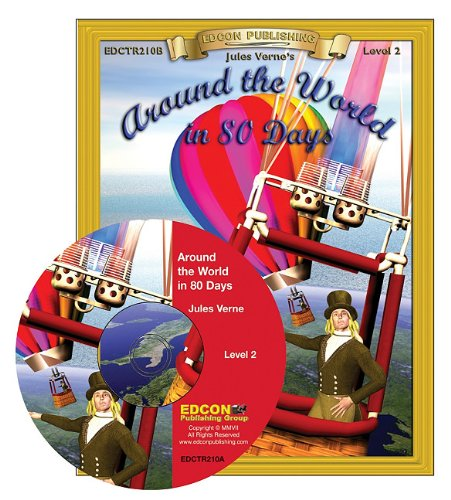 9781555765996: Around the World in 80 Days Read Along: Bring the Classics to Life Book and Audio CD Level 2 [With CD]