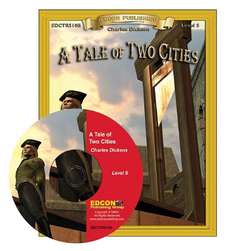 A Tale of Two Cities Read Along: Bring the Classics to Life Book and Audio CD Level 5 [With CD]: ...