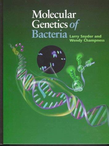 9781555811020: Molecular Genetics of Bacteria