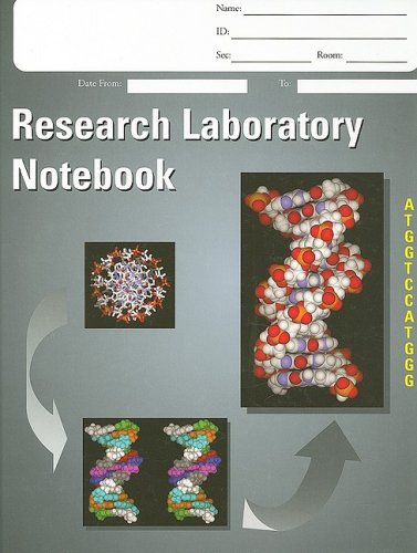 9781555813598: Laboratory Notebook, Research