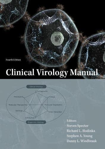 9781555814625: Clinical Virology Manual
