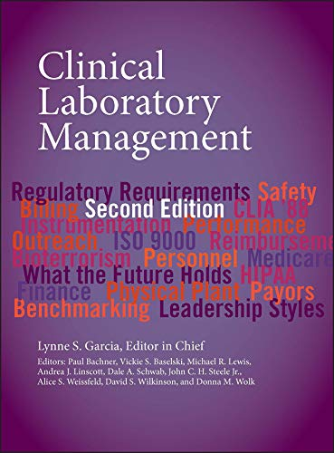 9781555817275: Clinical Laboratory Management