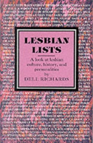 Lesbian Lists: Richards, Dell