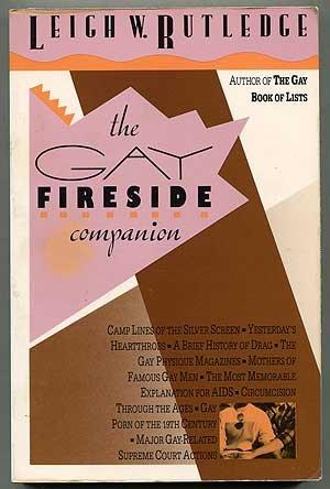 Gay Fireside Companion (1555831648) by Rutledge, Leigh