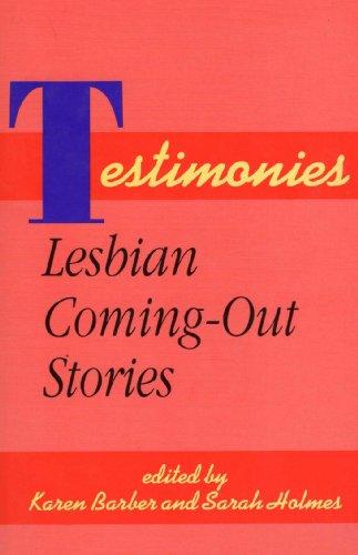 9781555832452: Testimonies