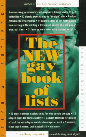 9781555833596: The New Gay Book of Lists