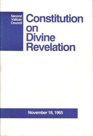 Dogmatic Constitution on Divine Revelation, Dei Verbum: Second Vatican Council