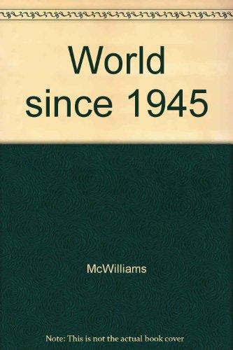 9781555870799: World since 1945