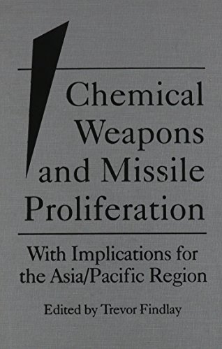 Chemical Weapons and Missile Proliferation: With Implications for the Asia/Pacific Region.