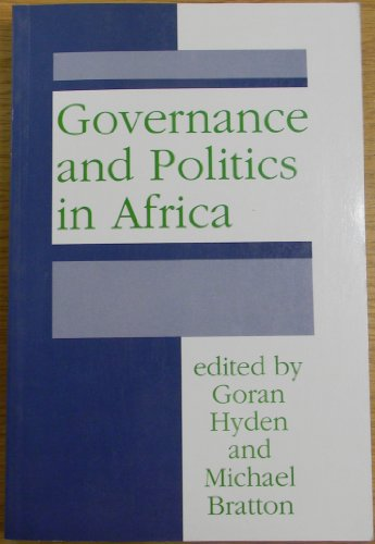 9781555872854: Governance and Politics in Africa