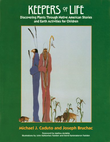 9781555912147: Keepers of Life Audiocassette: Native Plant Stories (A Fulcrum Audio)