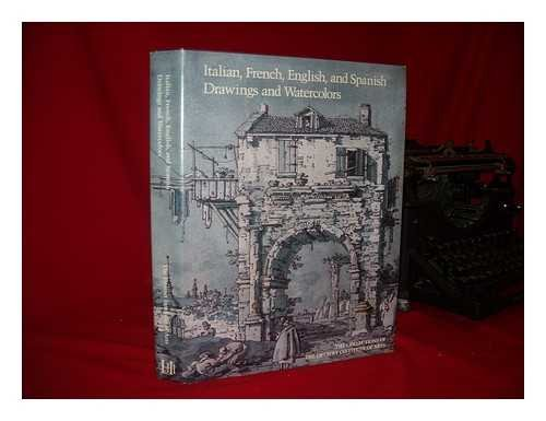 Italian, French, English, and Spanish Drawings and Watercolors: Sixteenth Through Eighteenth Cent...
