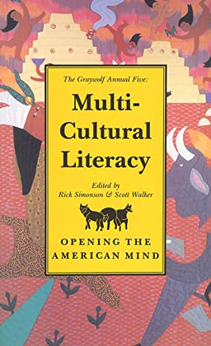 Annual Five : Multicultural Literacy (Graywolf Annual Ser.)