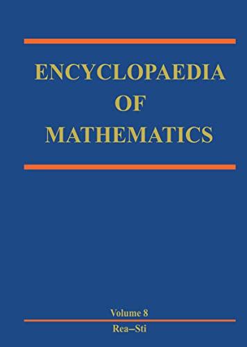 9781556080104: Encyclopaedia of Mathematics (Encyclopaedia of Mathematics, 10 Volume Set)