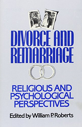 9781556122316: Divorce and Remarriage: Religious and Psychological Perspectives