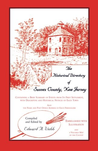 9781556136726: The Historical Directory of Sussex County, New Jersey