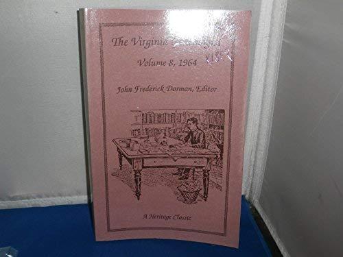 The Virginia Genealogist - Vol 8 - 1964: Dorman, John Frederick